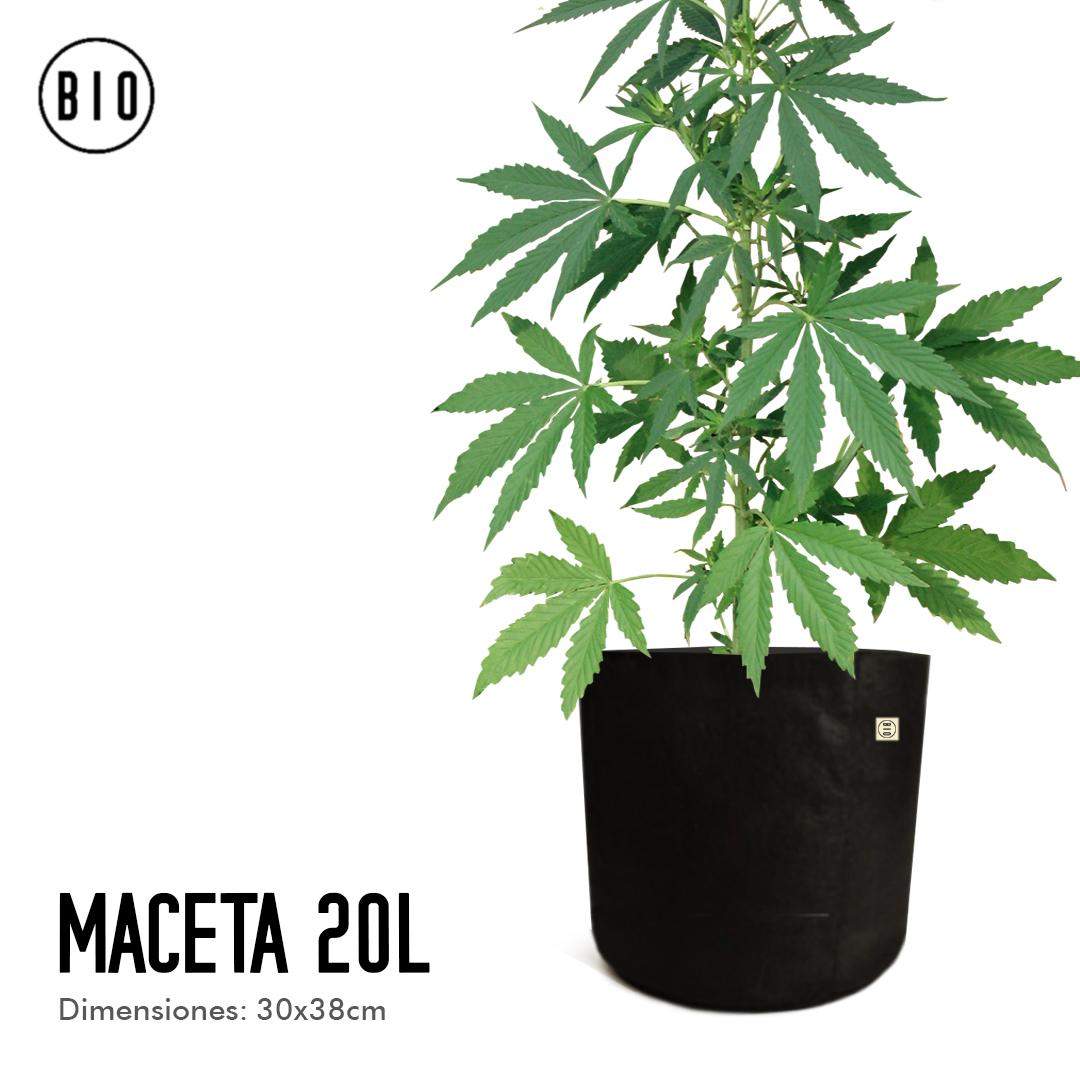 MACETA GEOTEXTIL 20L